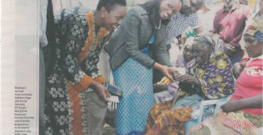 APSP Newspaper  Cash transfers beneficiary